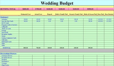 diy budget cheap wedding planner planning organizer work book easy spreadsheet ebay