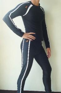 Womens Speedo 2pc Full Body Swimsuit Sun Protection XL