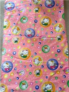Clearance yard hello kitty fabric retro character children for Kids character fabric