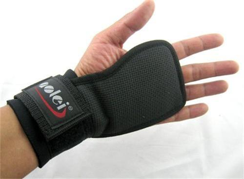 Quality-Weight-Lifting-Gym-Gloves-Grip-Pads-Heavy-Duty-Workout-Straps