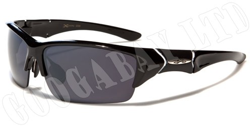 XLOOP-Mens-Womens-Sports-Designer-Black-UV400-Fashion-Wrap-Sunglasses-465-New