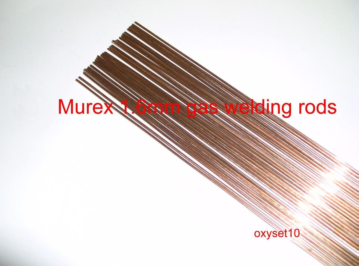 Murex mm gas welding rods copper coated ebay