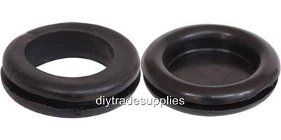 Rubber Blanking Hole Grommet 20mm 22mm 25mm Open Or Closed