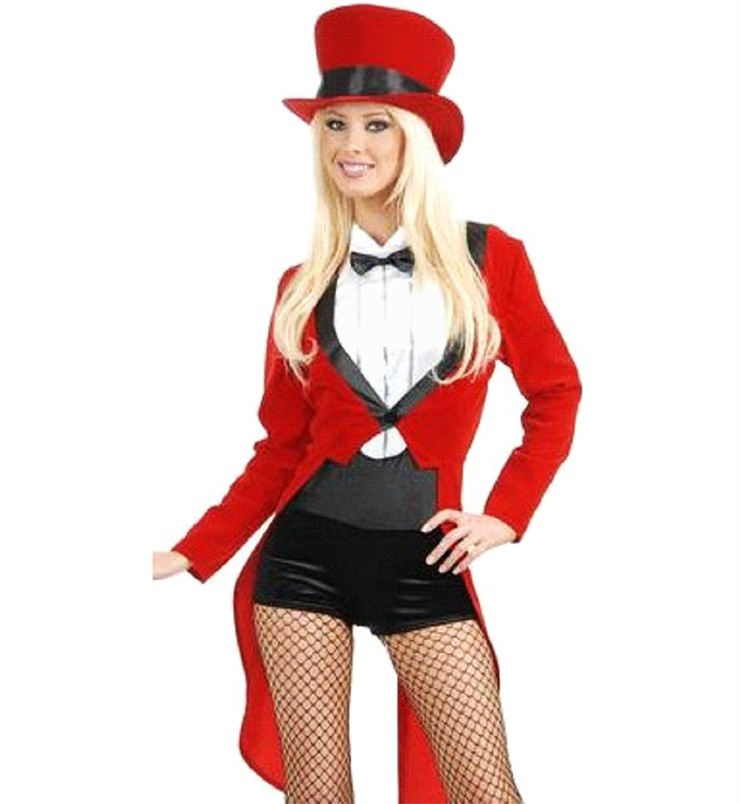 Sexy Ringmaster Circus Magician Costume Aussie Seller | eBay