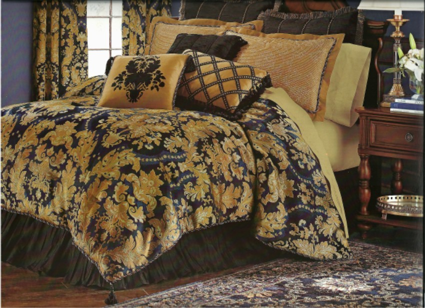 Shop for black and gold bedding sets at Shop Better Homes & Gardens. We have amazing deals on black and gold bedding sets from all around the web. Chezmoi Collection Chezmoi Collection Lisbon 7-Piece Jacquard Floral Comforter Set, King, Black/Gold Amazon $ $ Generic.
