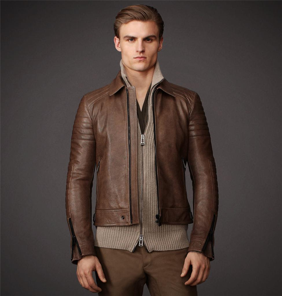 Belstaff Brown Leather