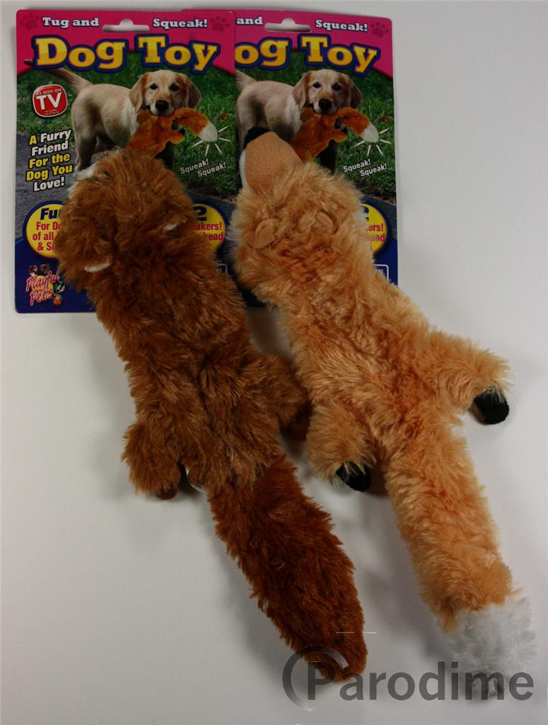 Dog cat toy stuffing free animal critters unstuffed chew for Fluffy cat toy