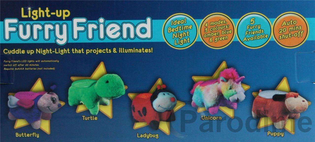 animal night light projector furry friend kids toy dream. Black Bedroom Furniture Sets. Home Design Ideas