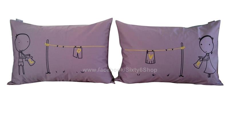 valentine gift sweet lover couple pillow case sleep pillowcase 4 colors 4 style ebay. Black Bedroom Furniture Sets. Home Design Ideas