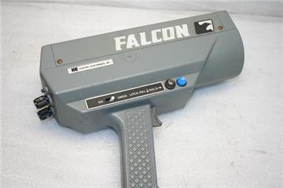 Kustom Signals Falcon Handheld K-Band Police Radar Gun   eBay