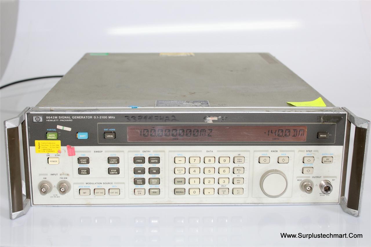 Hp Signal Generator : Hp hewlett packard m signal generator mhz ebay