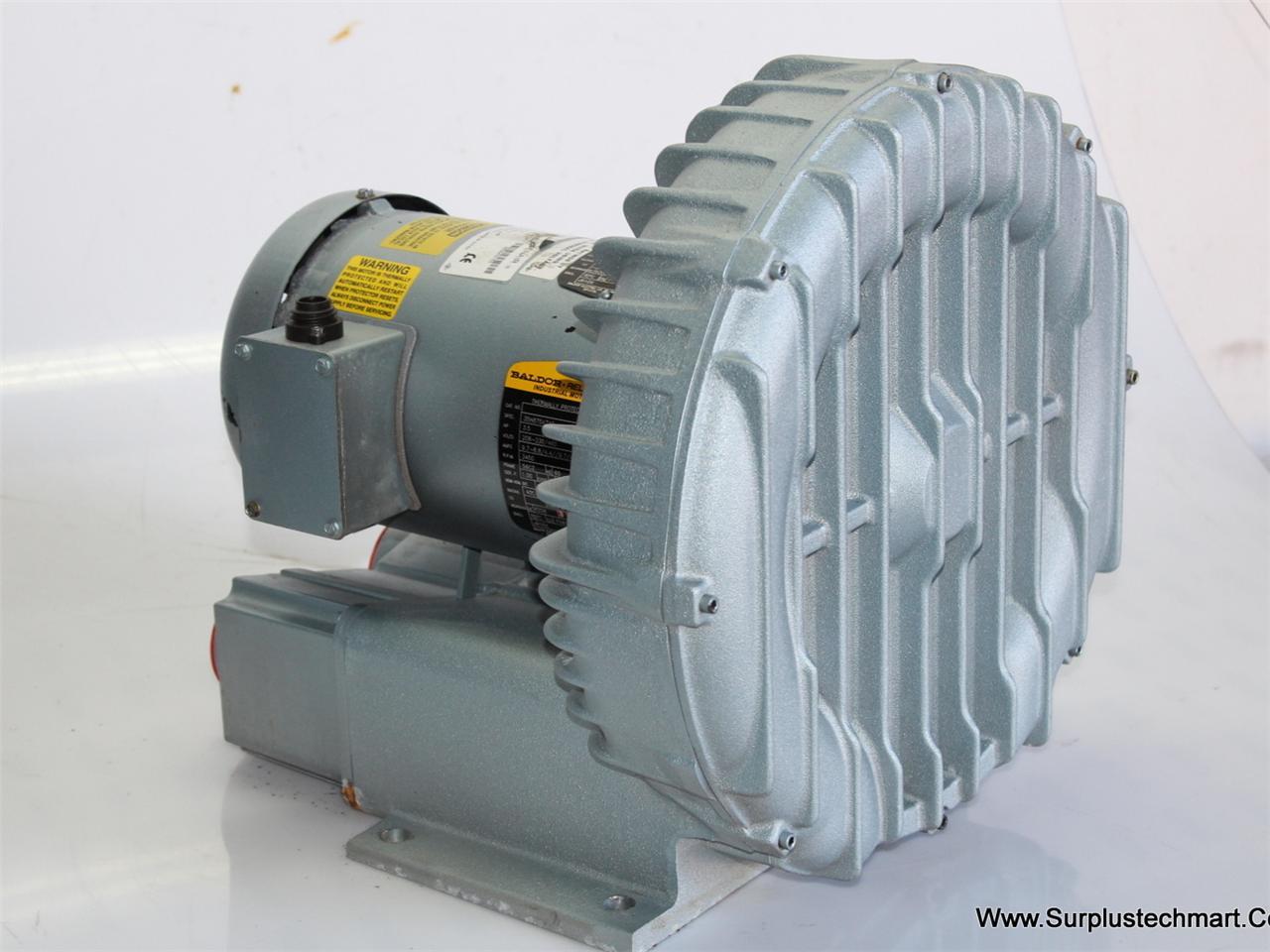 Gast Blower R6335a 2 Baldor Ac Motor 35h875x746 Ebay