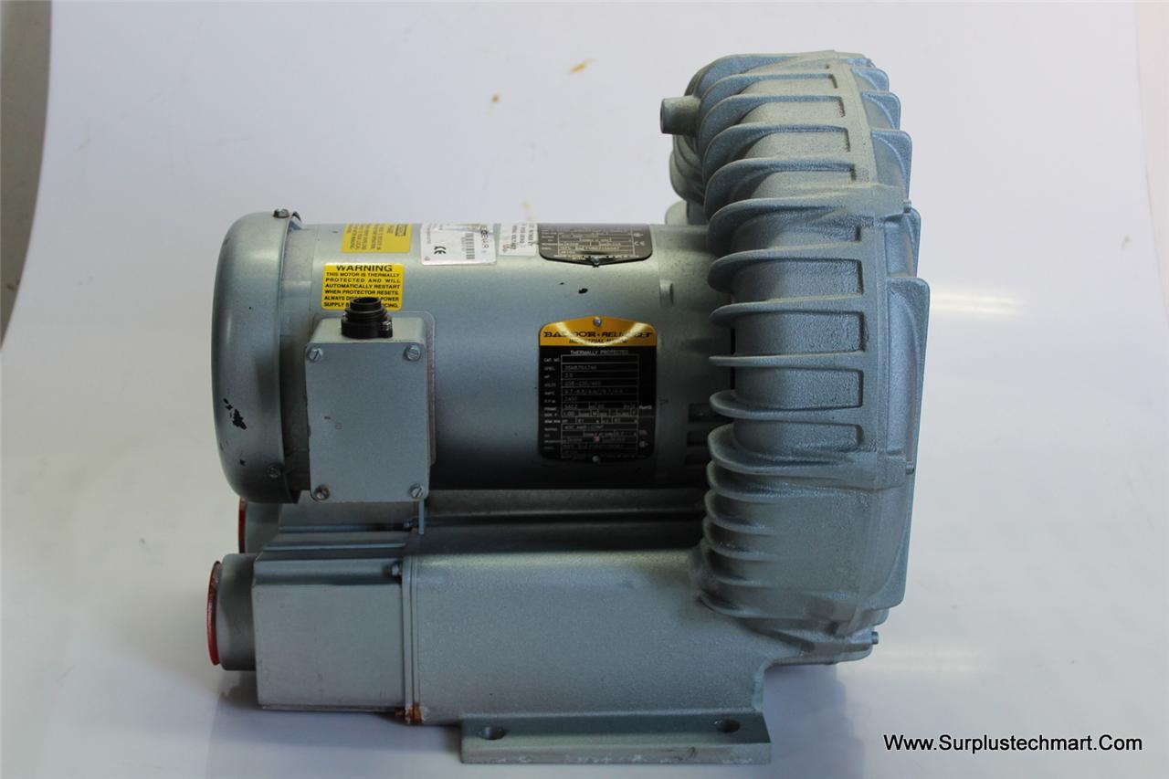 Gast blower r6335a 2 baldor ac motor 35h875x746 ebay for How much is a blower motor for ac unit