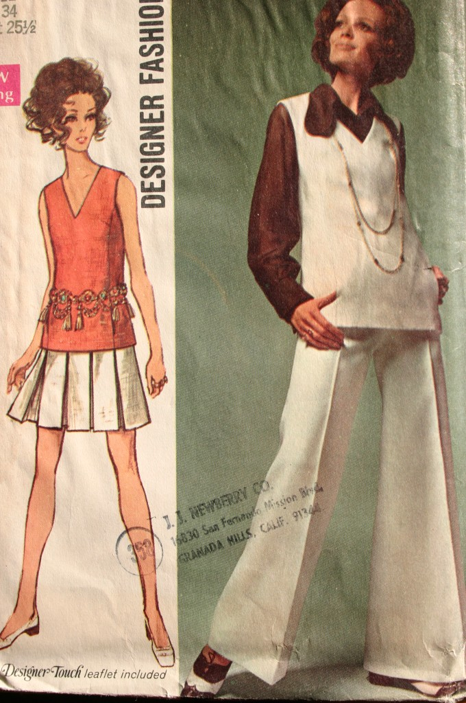 MISSES SKIRT PANTS SHORTS & TOP OR BLOUSE PATTERN VARIETY ...