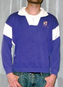 Vtg Hang Ten Sweatshirt Retro Punk Shirt 80s Indie Emo