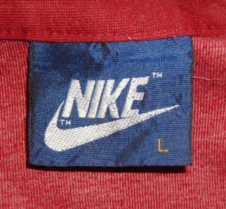 Vtg NIKE JACKET retro punk 80s shirt indie old coat emo