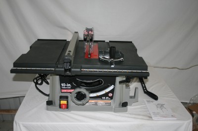 Craftsman 10 inch table saw ebay for 10 inch table saw craftsman