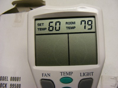 Designer S Choice Thermostatic Ceiling Fan Remote Control