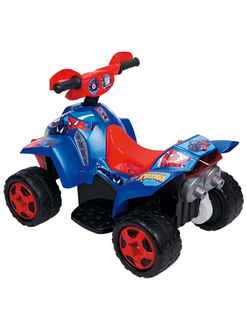 spiderman quad bike