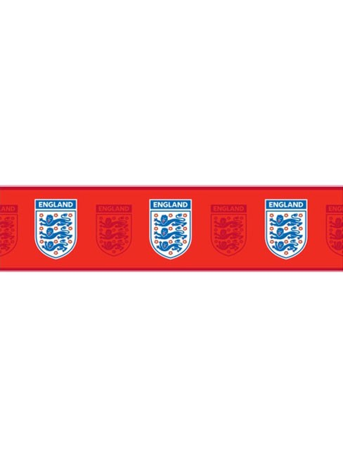 wallpaper borders uk. England #39;Red#39; Wallpaper Border