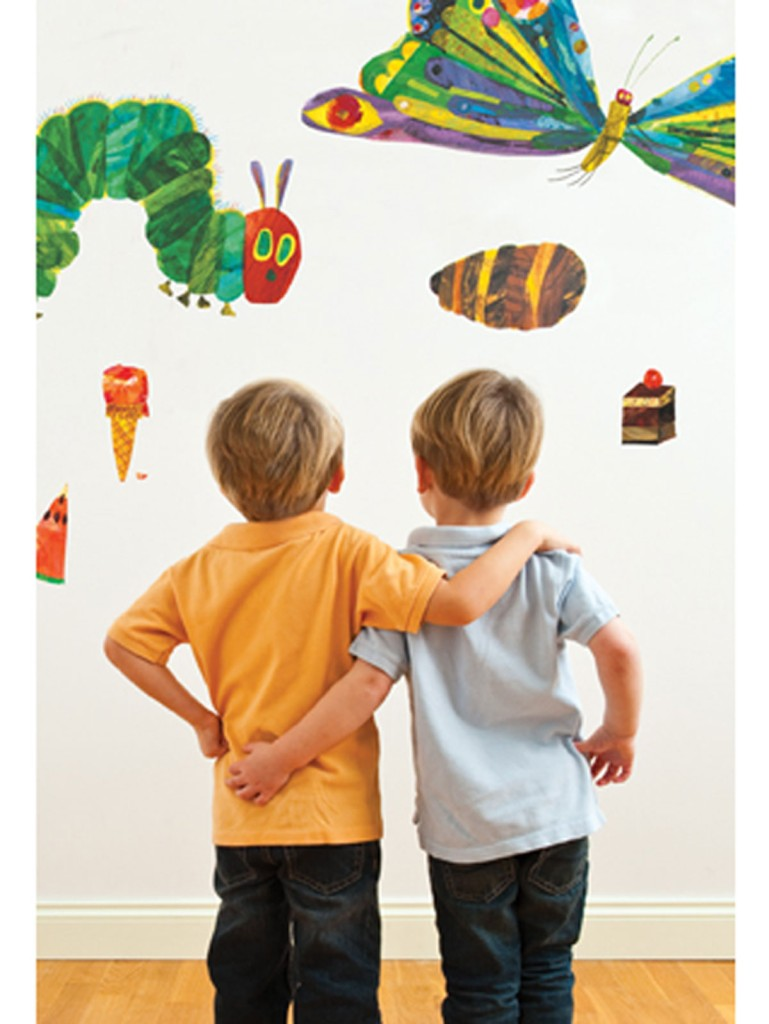 the very hungry caterpillar 49 giant wall stickers new ebay the hungry caterpillar sticker wall decal or iron on heat