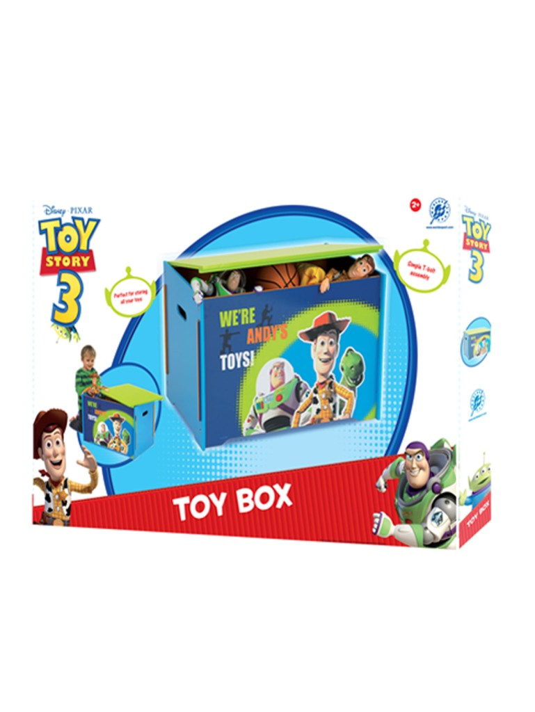 how to build toy story toy box