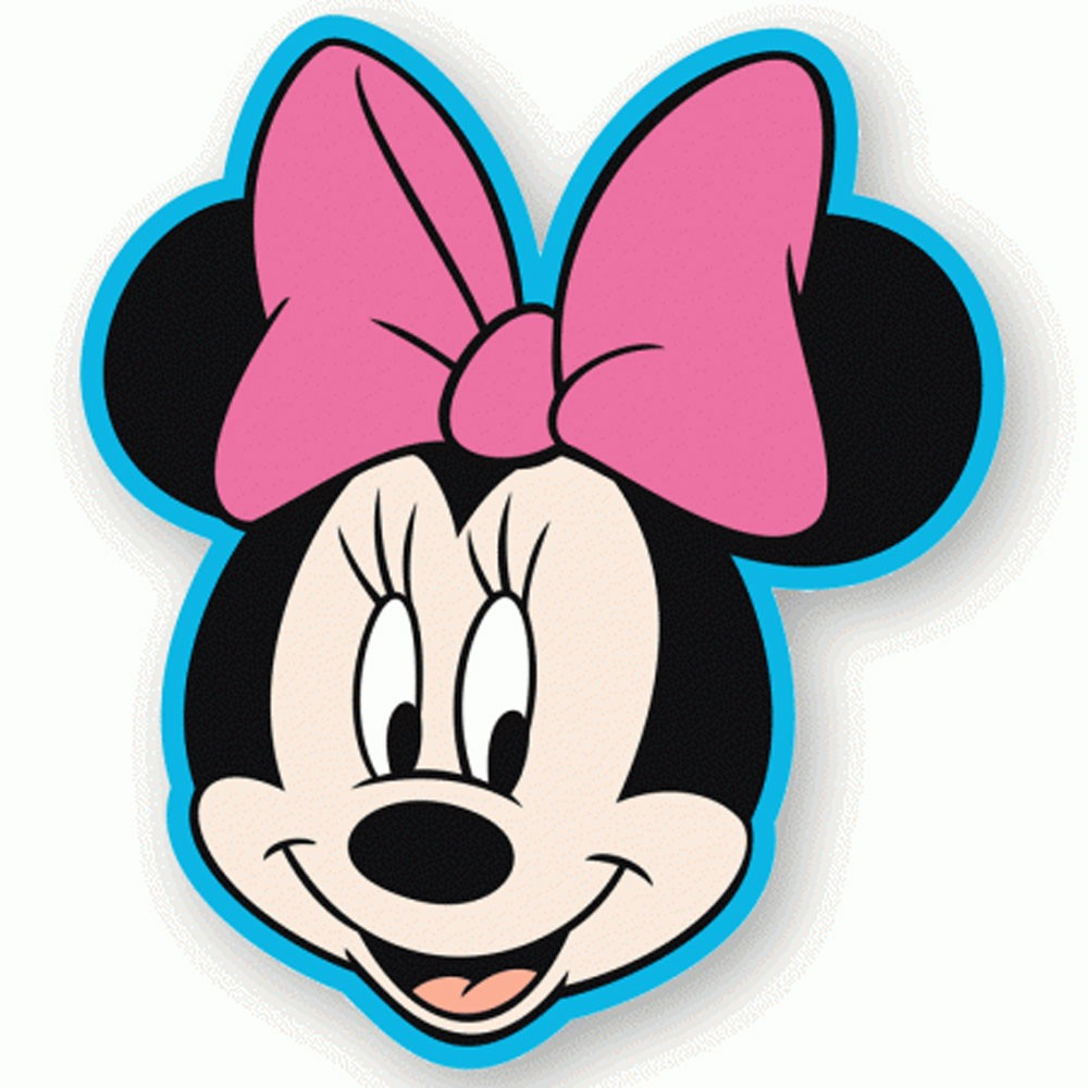 Minie Mouse Head Coloring Pages