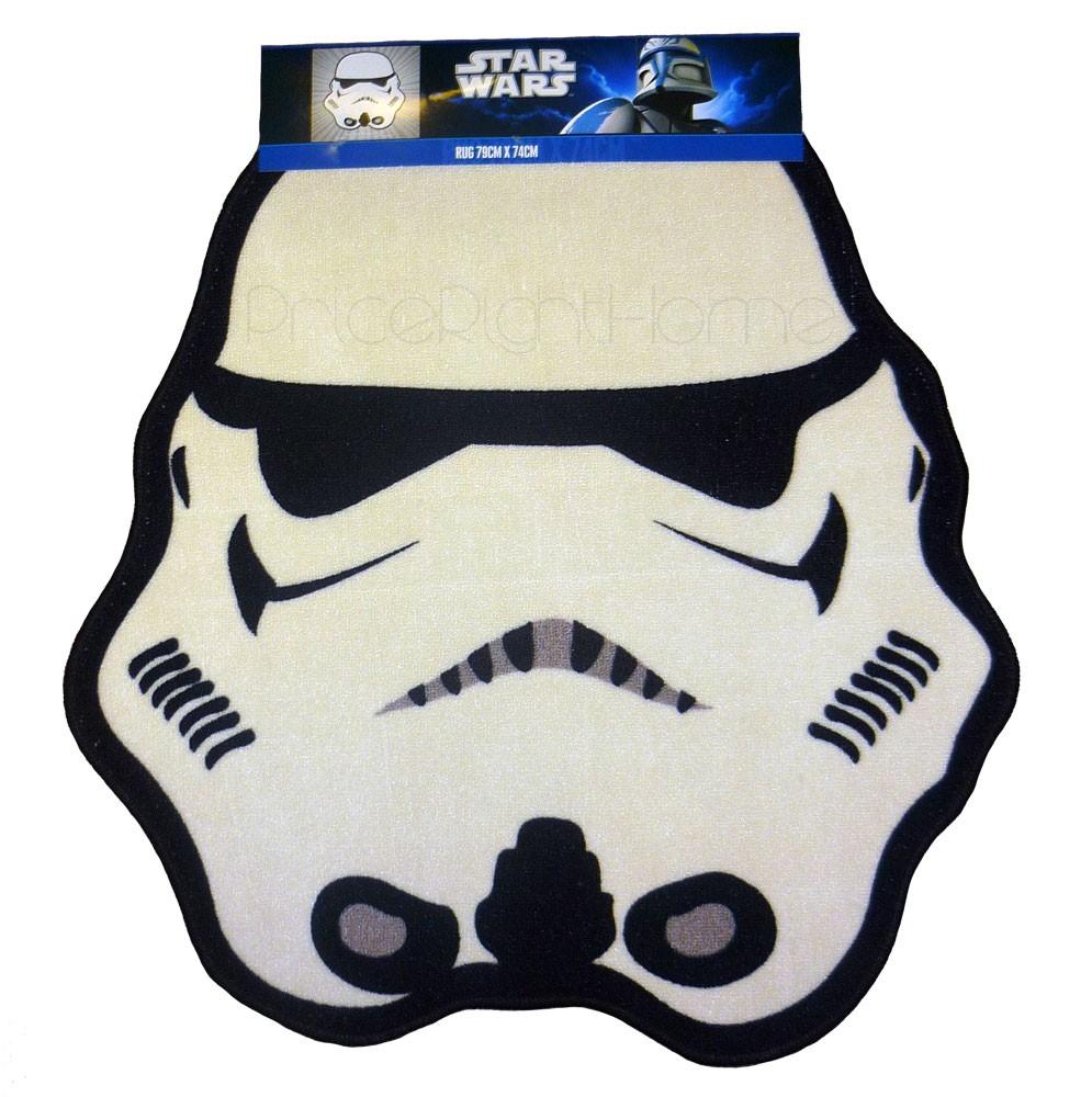 Star wars trooper en forme de sol tapis neuf et officiel stormtrooper ebay - Tapis de sol star wars ...