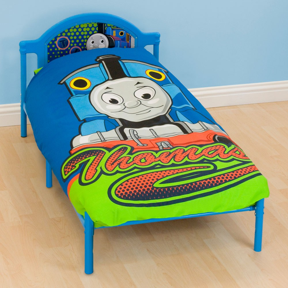 Thomas The Tank Engine Delta Junior Toddler Bed NEW