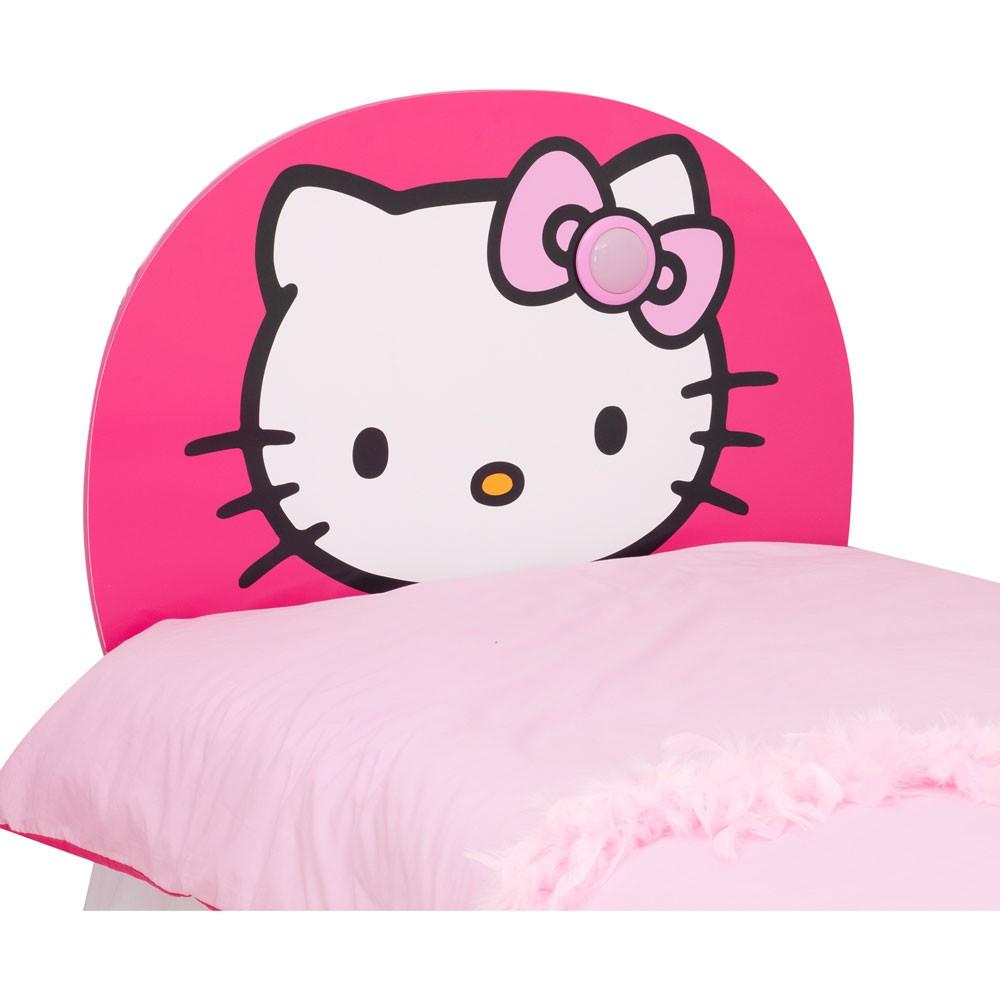 Hello kitty light up bed headboard new free p p ebay for Lit hello kitty