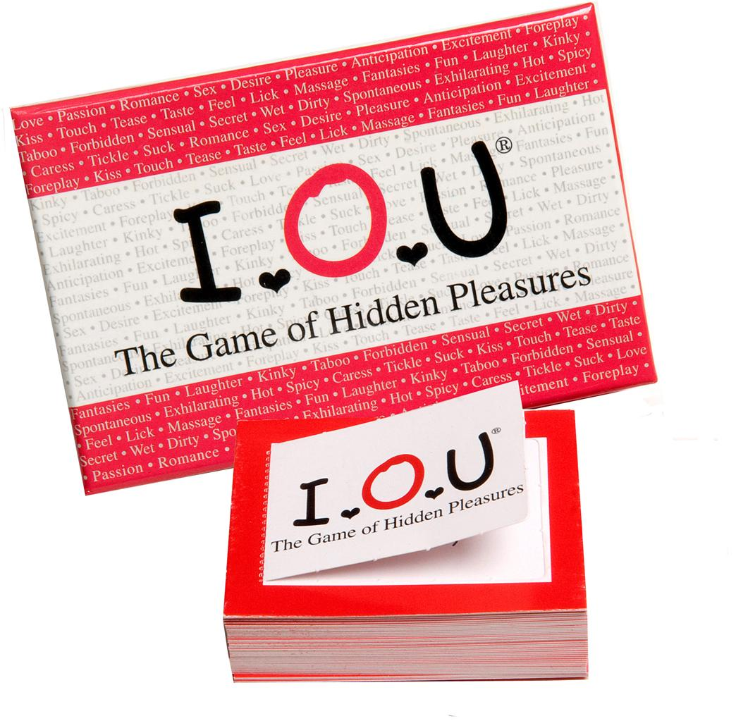 Iou the game of hidden sexy pull tab cards ebay for Bedroom nothing lasts chords