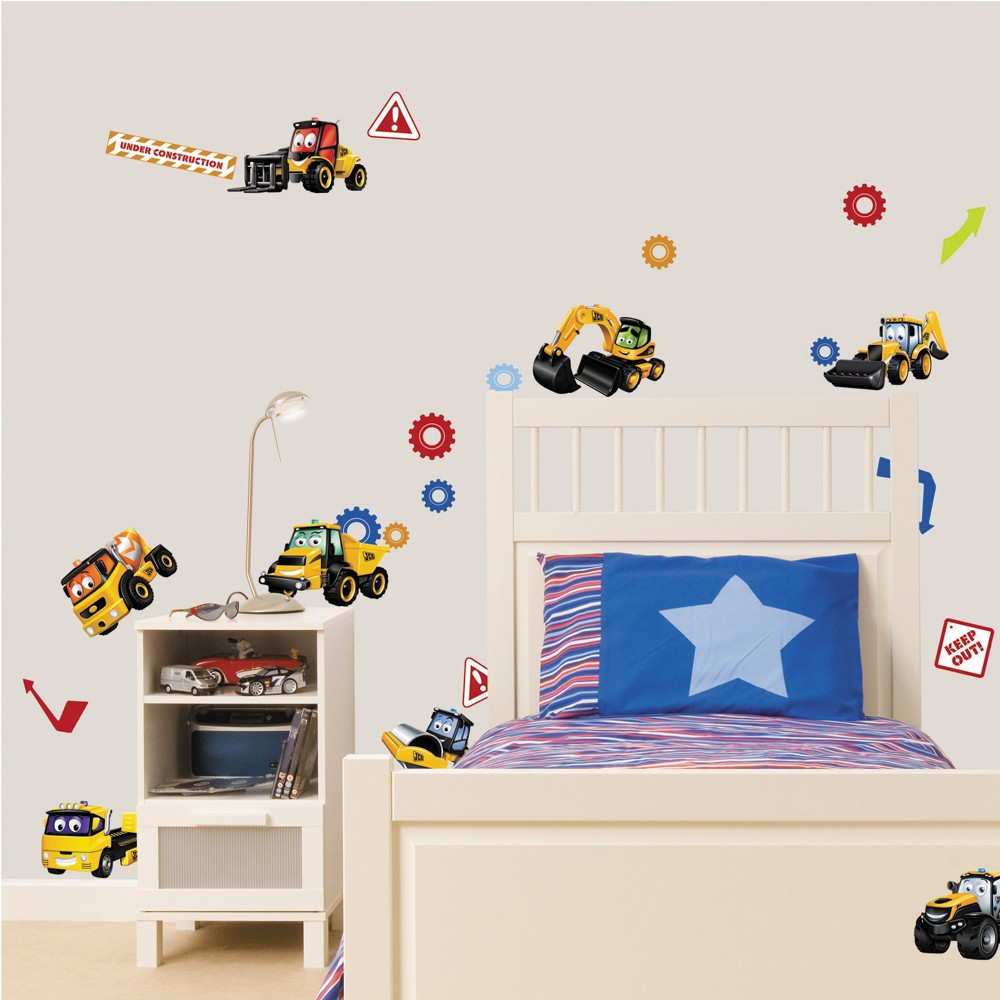 my first jcb stikarounds 28 stickers room decoration ebay fun4walls pretty hearts wall stickers stikarounds sa11879