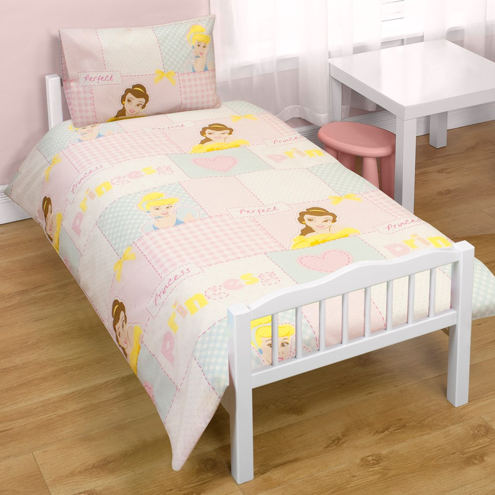 Disney princess wishes junior cot bed duvet cover new free p p ebay