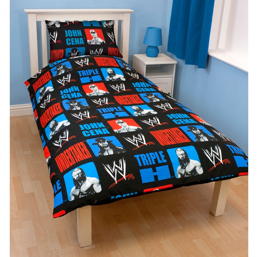 Wwe wrestling bedroom decor