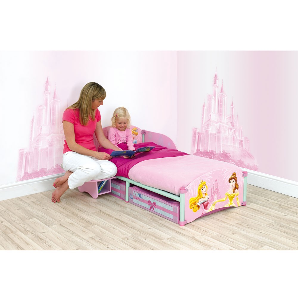 DISNEY PRINCESS STORYTIME TODDLER BED MATTRESS BNIB