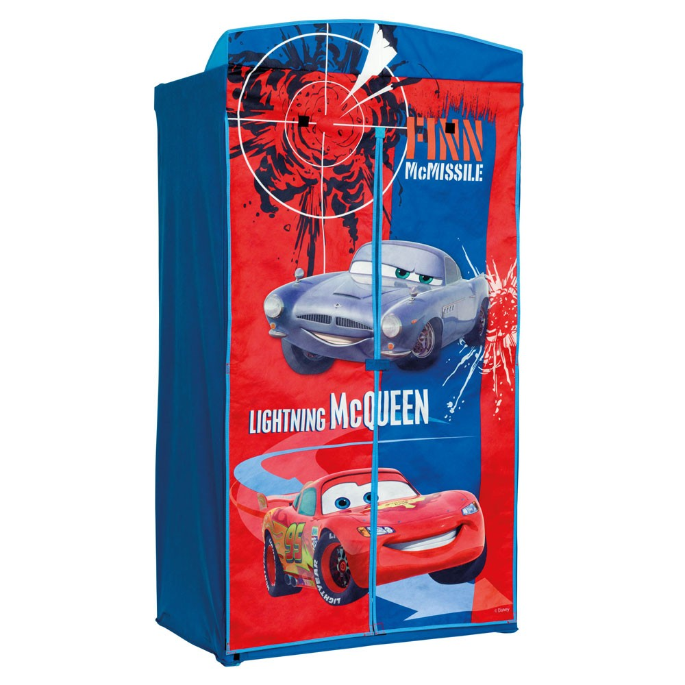 details about disney cars 2 wardrobe bedroom furniture new boxed