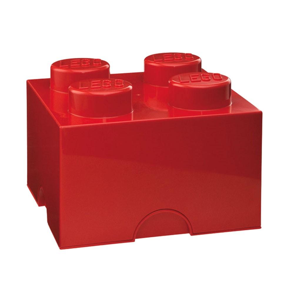 lego large storage box new furniture 4 red brick ebay