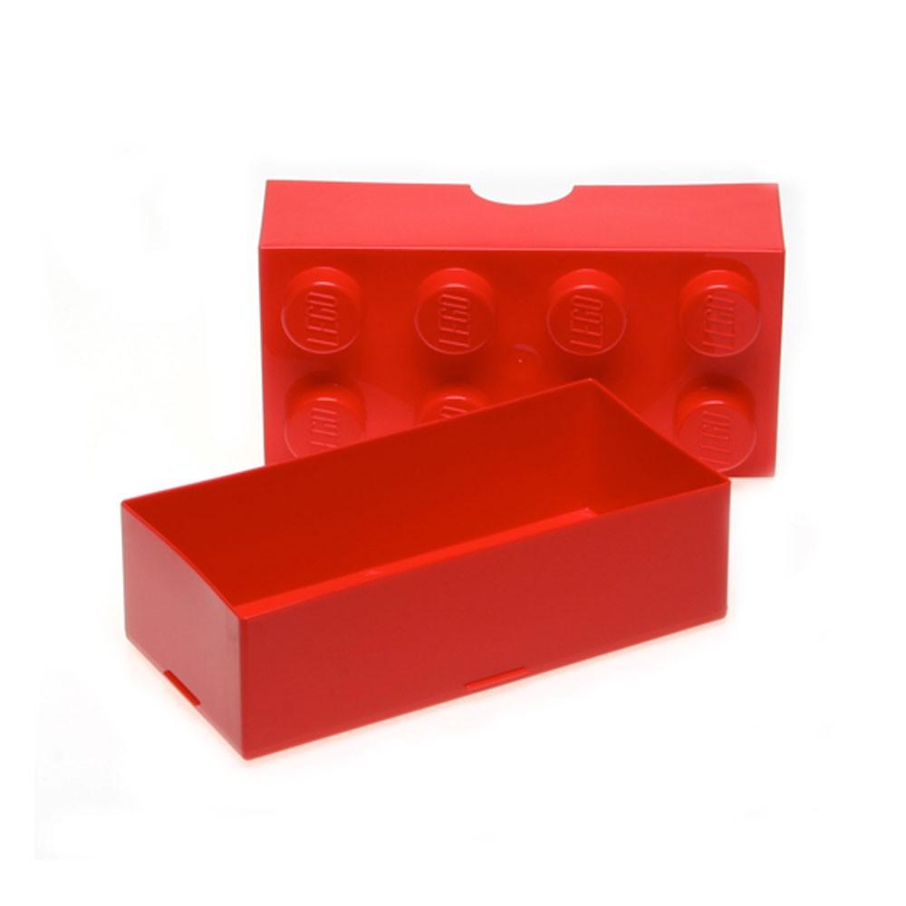 lego lunchbox aufbewahrung ziegel neu rot trinkflasche set ebay. Black Bedroom Furniture Sets. Home Design Ideas
