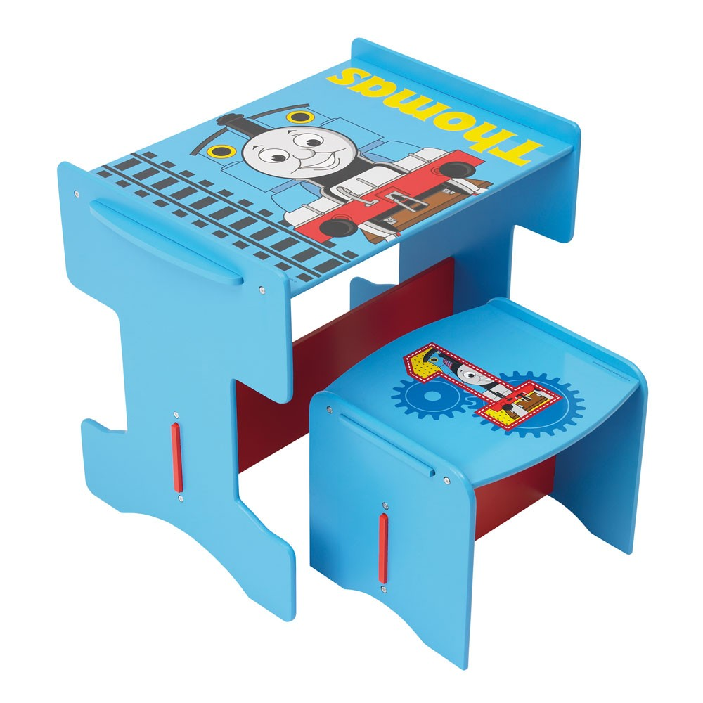 thomas the tank engine wooden desk stool furniture
