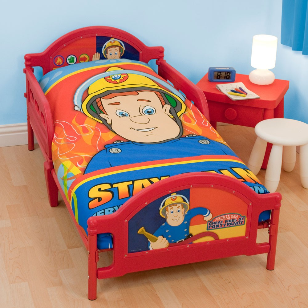 88 red toddler bed