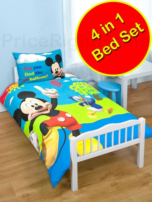 Disney mickey mouse bedroom accessories bedding furniture new official ebay - Mickey mouse bedroom furniture ...