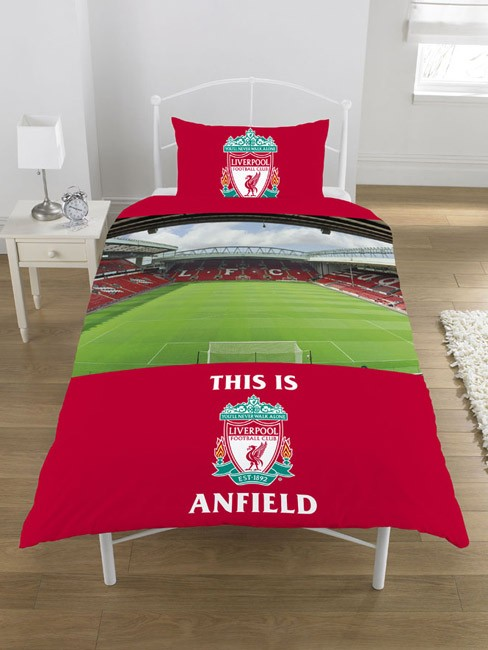 Details about FOOTBALL CLUB SINGLE DUVET COVER BEDDING SETS - ARSENAL