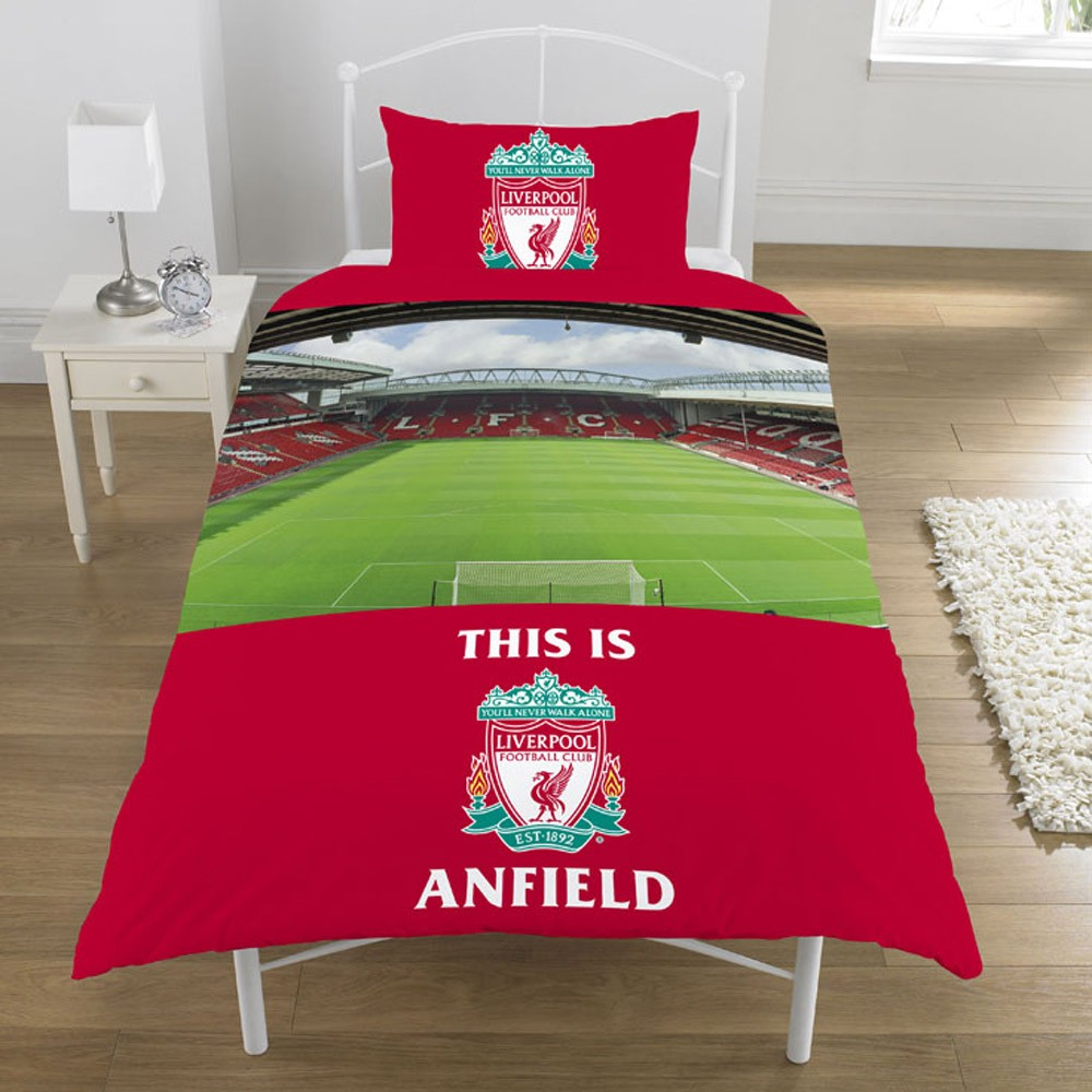 Official football club single and double fc duvet cover for Man u bedroom accessories