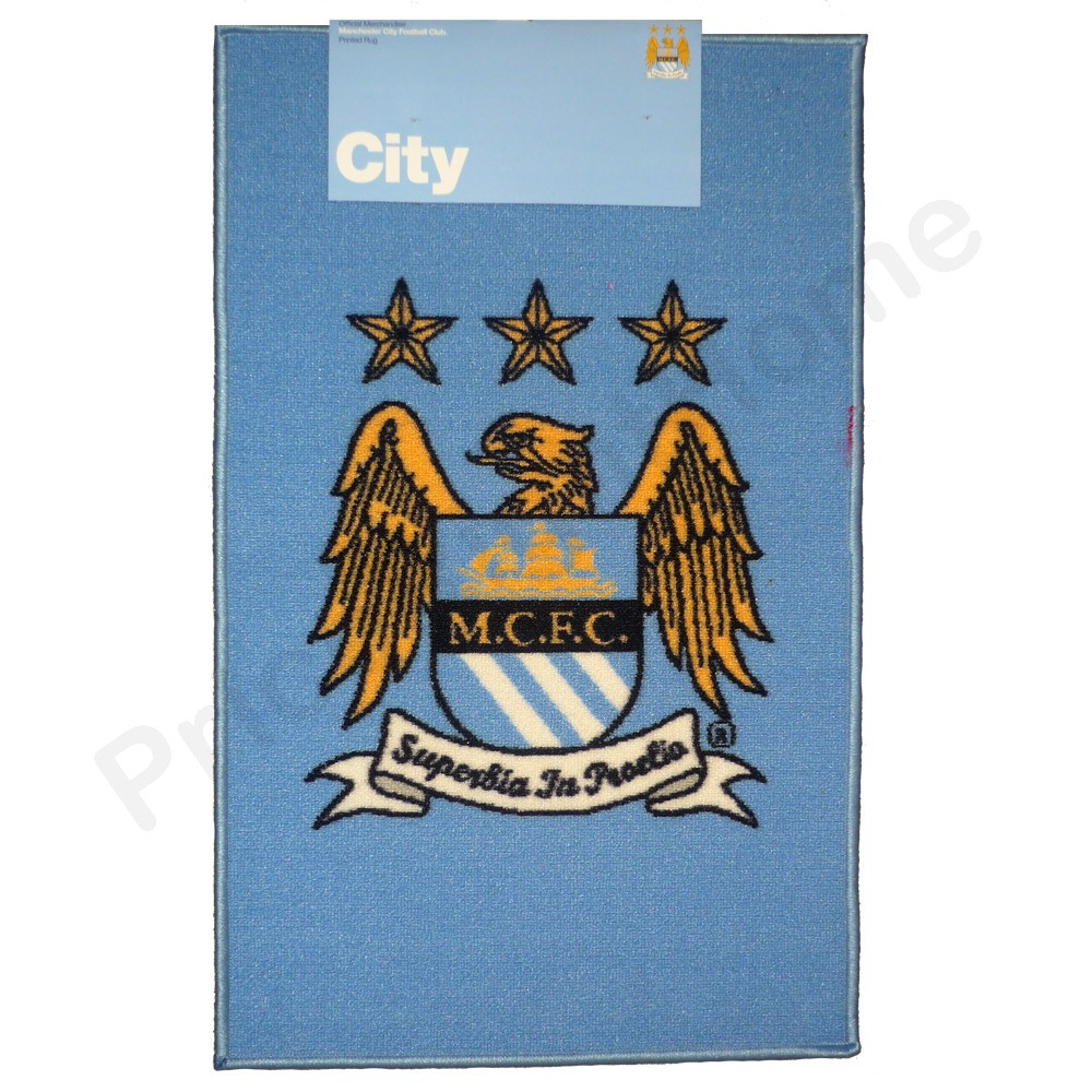 Manchester city fc large bedroom rug mat new football for Bedroom nothing lasts chords