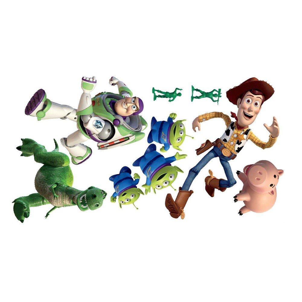 TOY STORY XXL WALL STICKERS NEW OFFICIAL BUZZ LIGHTYEAR LARGE GIANT eBay