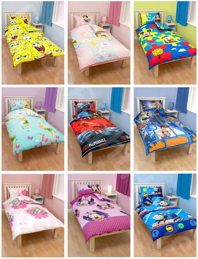 SINGLE-CHARACTER-DUVET-COVER-SETS-NEW-OFFICIAL-FREE-UK-SHIPPING