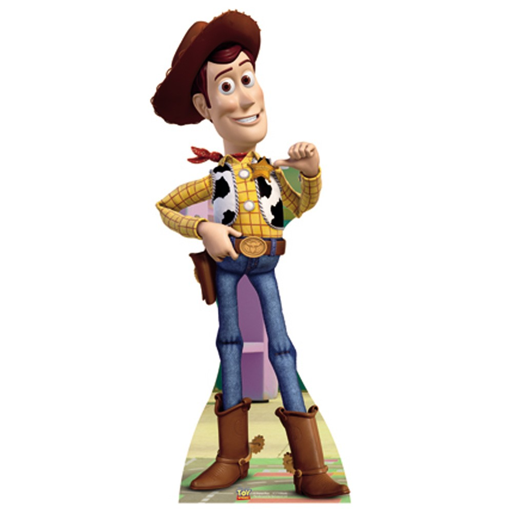 TOY STORY 'WOODY' LIFESIZE CARDBOARD CUT OUT NEW OFFICIAL ...