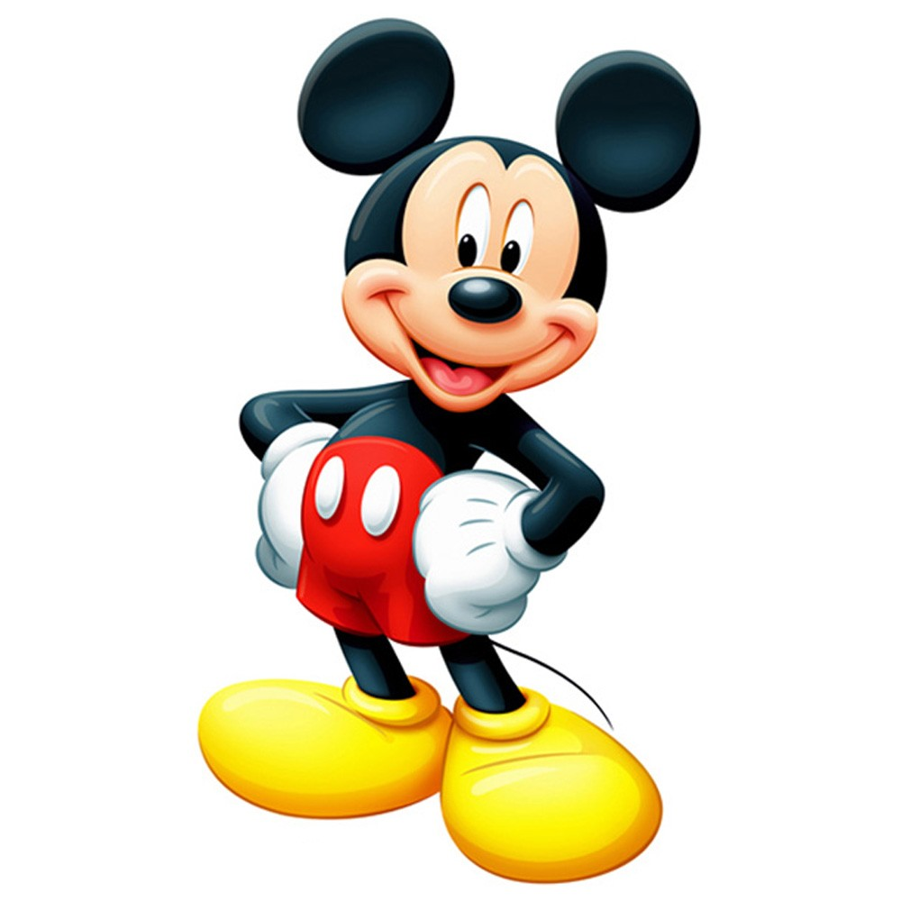 Mickey Mouse Cut Out Pictures to pin on Pinterest