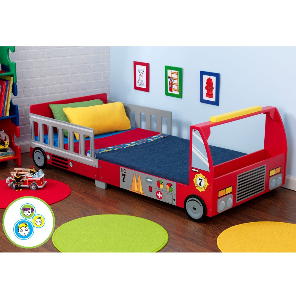 FIRE ENGINE TRUCK JUNIOR TODDLER BED NEW BOXED KIDKRAFT