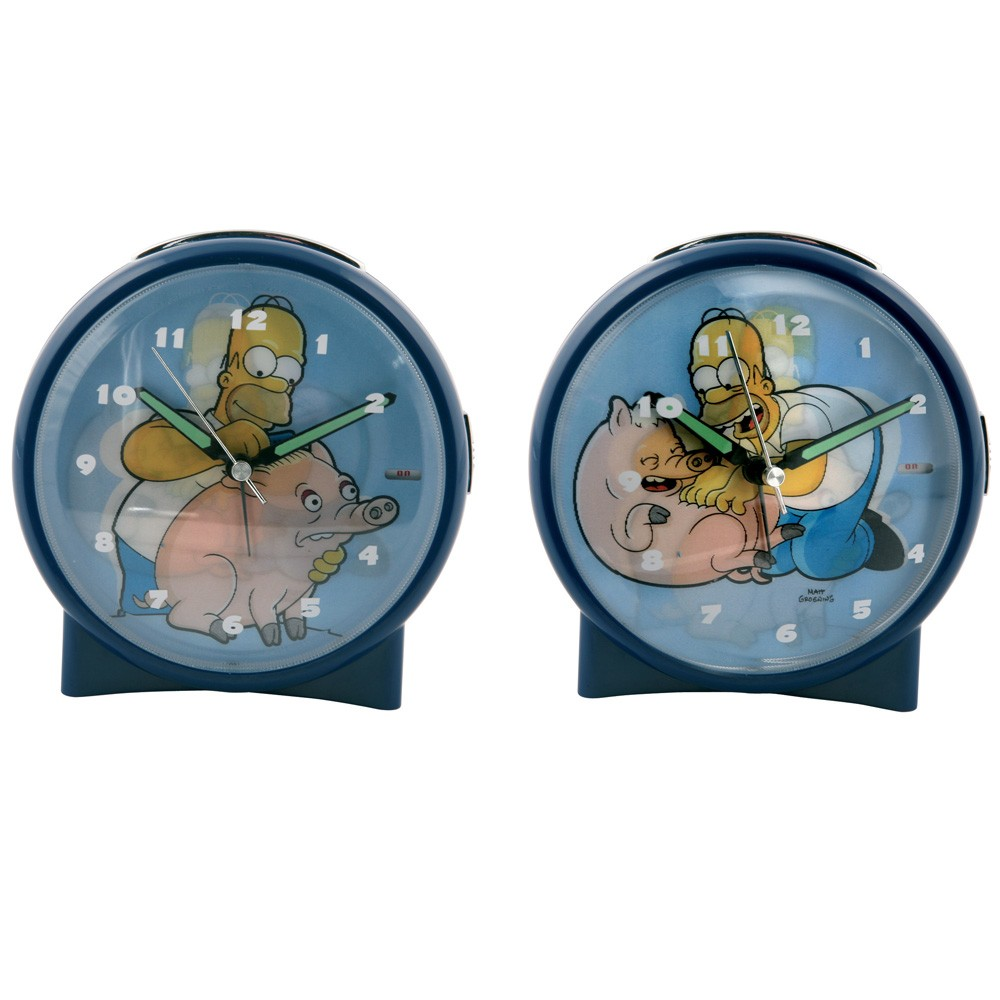 Homer Simpson Clock - Dealtastic
